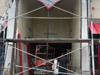 anthonys glass and mirrors commercial installation exterior window replacement 01