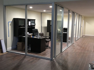 anthonys glass and mirrors commercial installation interior window replacement 08