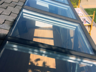 anthonys glass and mirrors commercial installation exterior window replacement