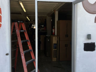 anthonys glass and mirrors commercial installation store entrance window replacement 02