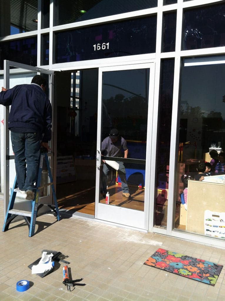 anthonys glass and mirrors commercial installation storefront window replacement 01