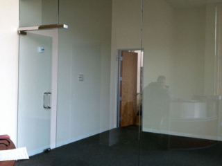 anthonys glass and mirrors commercial installation interior window replacement 02