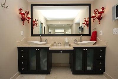 vanity mirrors replacement